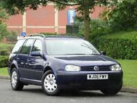 Volkswagen Golf 1.9TDI PD Estate 2006MY S.CAMBELT DONE TWICE + 10 SERVICE STAMPS