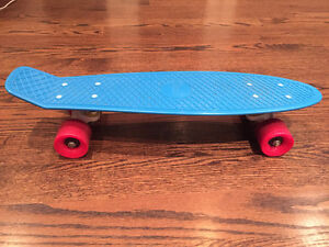 "22"" Penny Skateboard Original - Cyan Deck/White Trucks/Red Wheel"