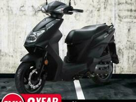Sym Mask 50cc Twist & Go Learner legal Automatic Commuter Scooter Moped F...