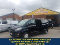 2018 18 FORD TRANSIT CUSTOM T300 TREND KOMBI D/CAB LATEST EURO 6 MODEL( FACE LIF