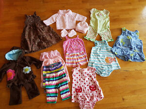 Girls 3 Month Clothing lot.