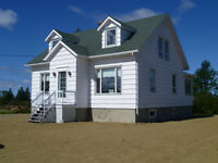 HOUSE FOR SALE in BERTRAND, NB. 140,000 negociable