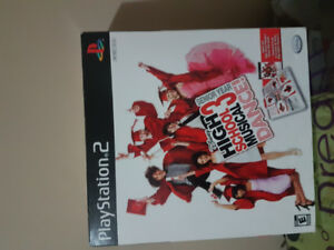 Highschool Muscial 3 Dance Ps2 New!