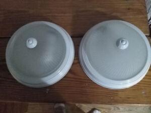 2 Flushmount Ceiling Light Fixtures