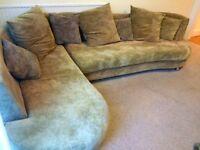 L shaped corner sofa