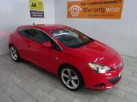 Red Vauxhall Astra GTC 1.6i SRi Turbo ***FROM £36 PER WEEK***