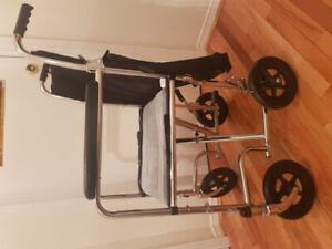 Used Wheel Chair, Bath Tub Bench, Walking Stick And Walker