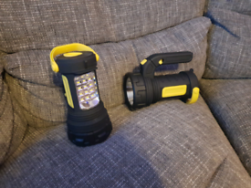 2 Brand New Boxed Super Bright LED Spot Lanterns RRp £40