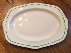 """A 14 1/4 inch platter by Alfred Meakin """"ERIN"""" pattern"""