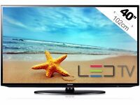 """(Perfect) Samsung UE40EH5000 40"""" Widescreen Full HD 1080p LED TV with Freeview HD + HDMI + remote"""
