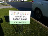 SERVICE DE GARDE