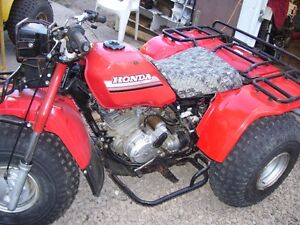 1985 BIG RED ATC250ES...RARE