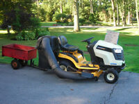 Cub Cadet LTX 1142 Riding Lawn Mower