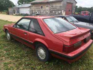 88 Mustang LX for sale