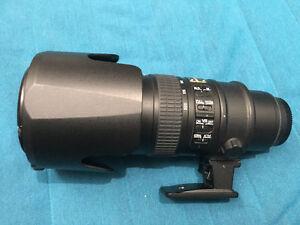 Nikon 70-200mm F/2.8G IF-ED - AF-S VR ZOOM