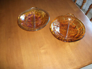 DEPRESSION ERA CANDY DISHES