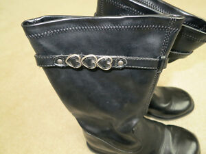 Girls fashion boots size 3W Kitchener / Waterloo Kitchener Area image 5