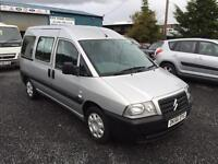 Citroen Dispatch 2006 year 35,000 miles wheel chair adapted vehicle