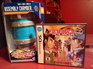 Nintendo DS game also fit  (Dsi XL) & Beyblade Assembly chamber