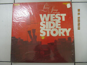 ClassicLivingStrings PlayMusicFrom West Side Story LP Circa 1969 London Ontario image 1