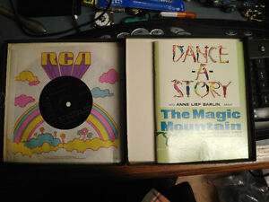 MAGIC MOUNTAIN story record by Anne Lief Barlin in 1964 London Ontario image 2