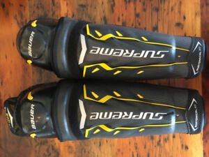 Bauer Supreme Total One NGX Shin Pads 15.0
