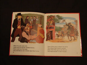 JESSE JAMES THE OUTLAW very Rare childrens Hardcover collectible Belleville Belleville Area image 3