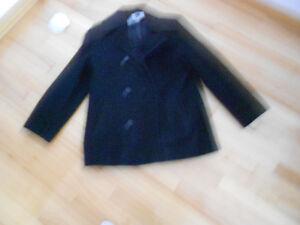Kristen Blake black pea coat Kingston Kingston Area image 1