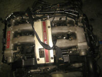 NISSAN 300ZX FAIRLADY VG30DETT ENGINE FOR PARTS ONLY JDM VG30