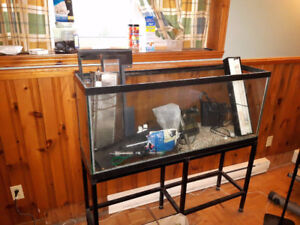 Aquarium 50 gallon w/ accessories
