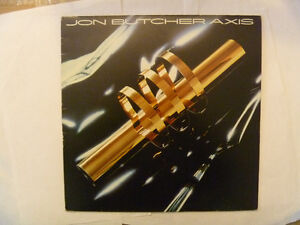 JON BUTCHER AXIS 1983 LP