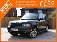 2011 Land Rover Range Rover 4.4 TDV8 Turbo Diesel Vogue SE 4x4 4WD 6 Speed Auto