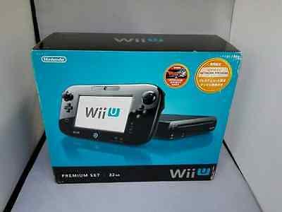 USED Nintendo Wii U Premium set kuro 【Manufacturer end of production】F/S Japan