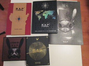 B.A.P Official Kpop Albums CD+DVDs, Photocards