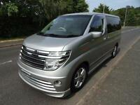 2004 Nissan Elgrand 3500 5 DOOR RIDER STYLING FRESH IMPORT
