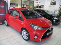 2015 TOYOTA YARIS 1.5 Hybrid Excel 5dr CVT LEATHER Auto