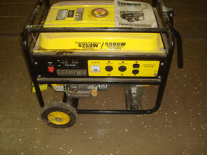 Portable generator used 3 times