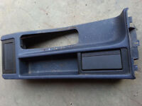 BMW E36 3 Series Blue interior center console with 2 ash trays