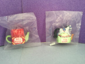 Red Rose Tea Collectible Animal Figurines