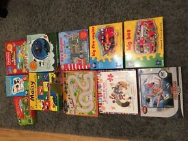11 childrens jigsaws no pieces missing