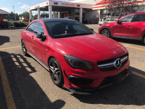 2014 Mercedes benz cla45 amg low kms