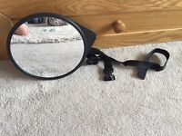 CHILDS CAR SEAT REAR VIEW MIRROR
