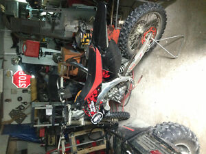 Trade my 2001 crf450r bike for 4x4 atv