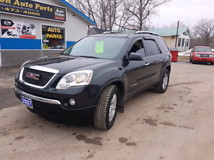 2007 GMC ACADIA AWD 7 PASSENGER certified etested we finance