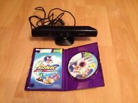 Xbox 369 Kinect with game