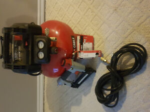 Compressor and Table Saw