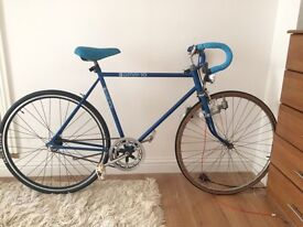 Converted fixed gear/single speed Huffy Omni-10 for parts