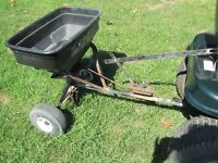SPREADER for LAWN GARDEN TRACTOR RIDING LAWNMOWER MOWER