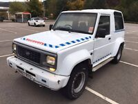 Daihatsu fourtrak spares or repairs very short mot