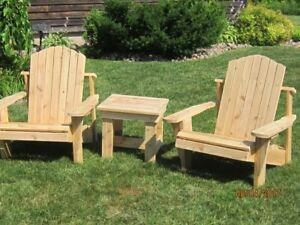 Have A Chair cedar Adirondack chairs